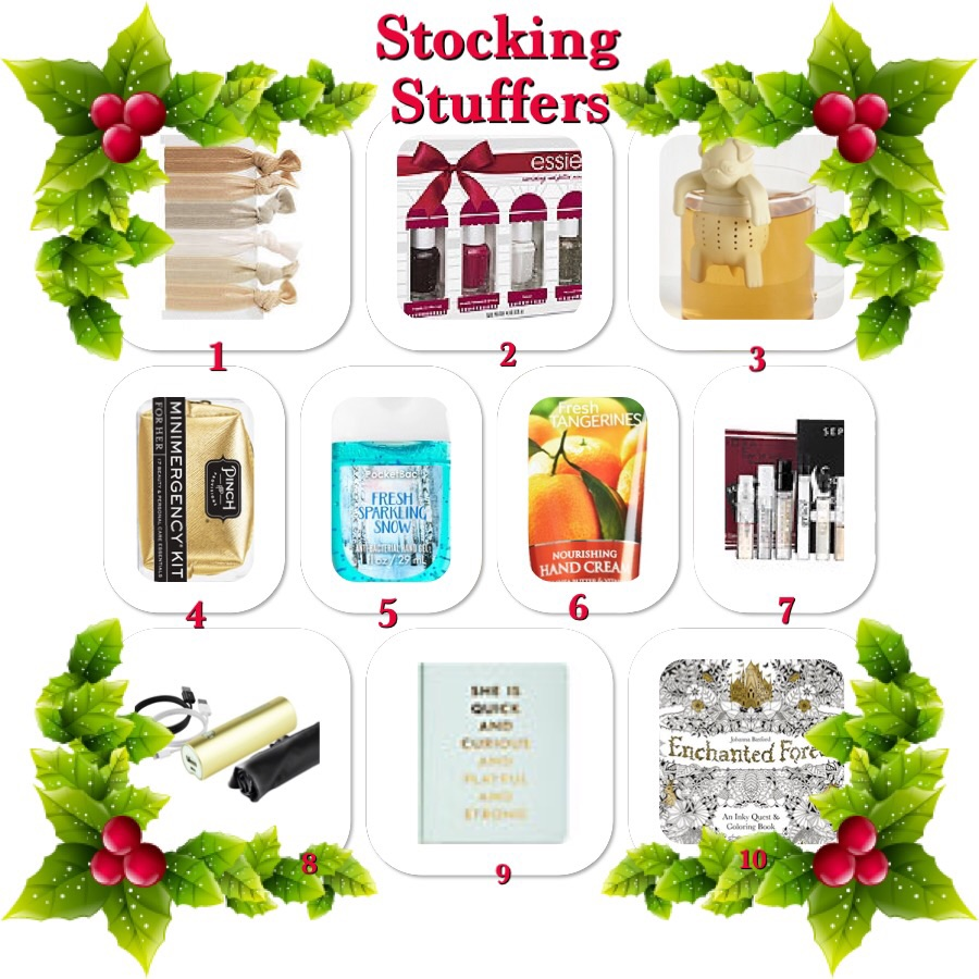 All I want for Christmas Gift Guide – Stocking Stuffers Under $25 Ladies