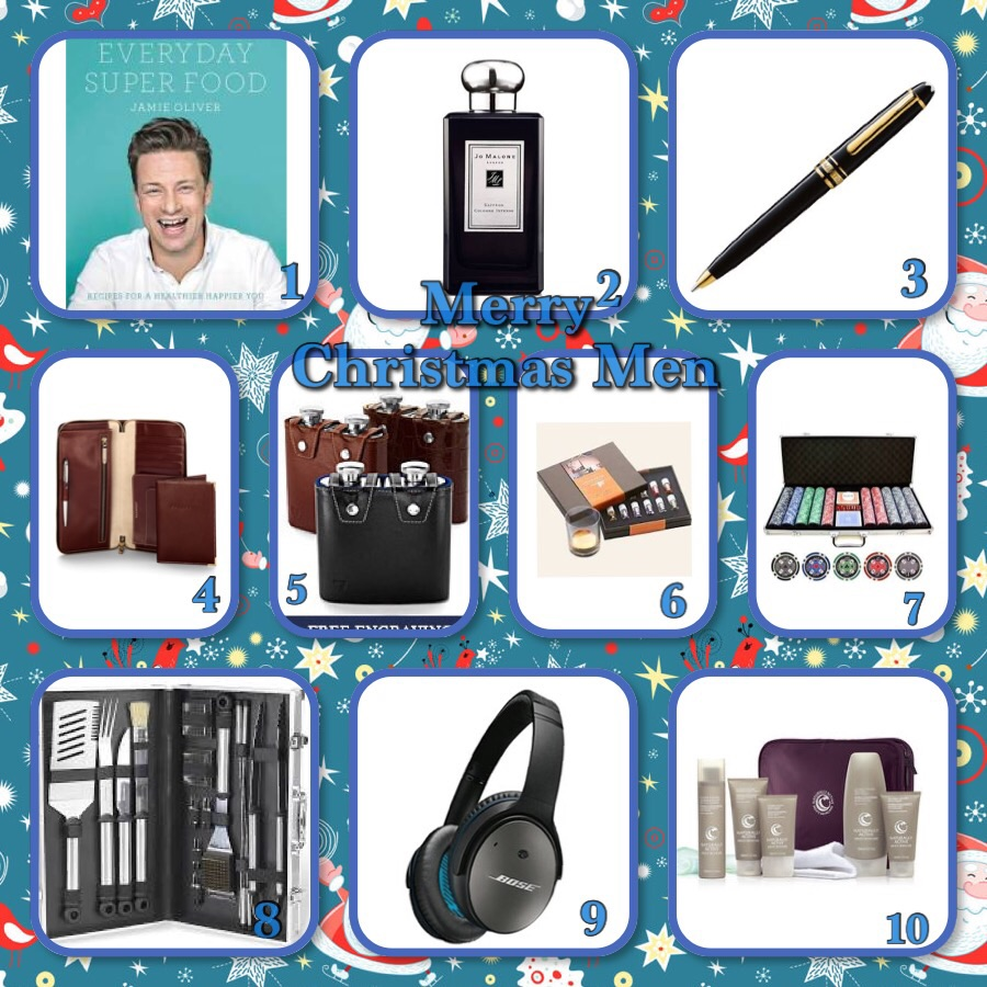 All I want for Christmas Gift Guide –Men