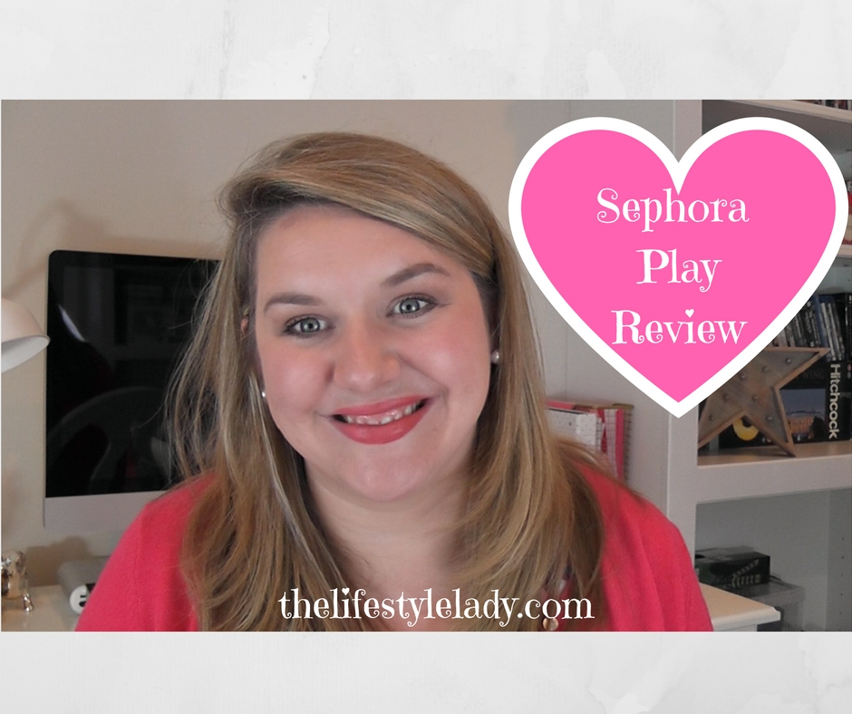 Sephora Play Review! October 2016